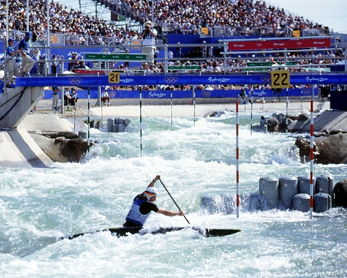 canoe slalom competition