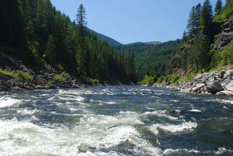 river in Idaho